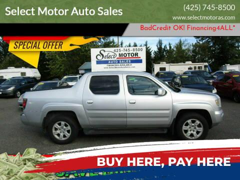 2006 Honda Ridgeline for sale at Select Motor Auto Sales in Lynnwood WA