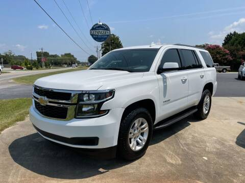 2015 Chevrolet Tahoe for sale at Getsinger's Used Cars in Anderson SC
