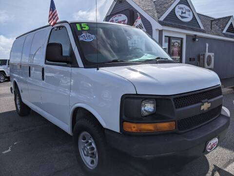 2015 Chevrolet Express Cargo for sale at Cape Cod Carz in Hyannis MA