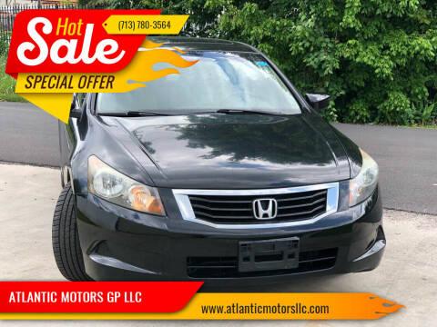 2010 Honda Accord for sale at ATLANTIC MOTORS GP LLC in Houston TX