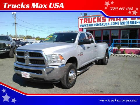2016 RAM Ram Pickup 3500 for sale at Trucks Max USA in Manteca CA