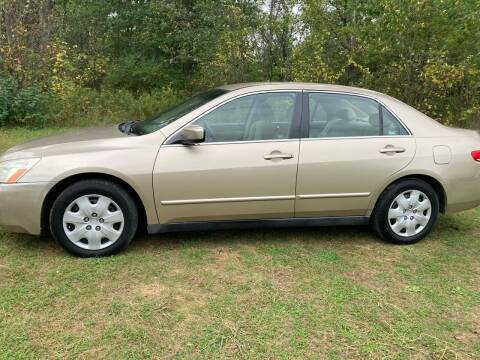 2004 Honda Accord for sale at Expressway Auto Auction in Howard City MI