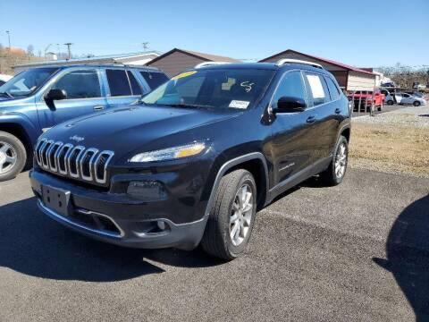 2018 Jeep Cherokee for sale at Chantz Scott Kia in Kingsport TN