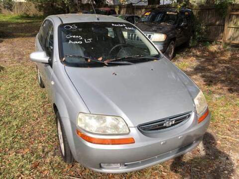 2006 Chevrolet Aveo for sale at Castagna Auto Sales LLC in Saint Augustine FL