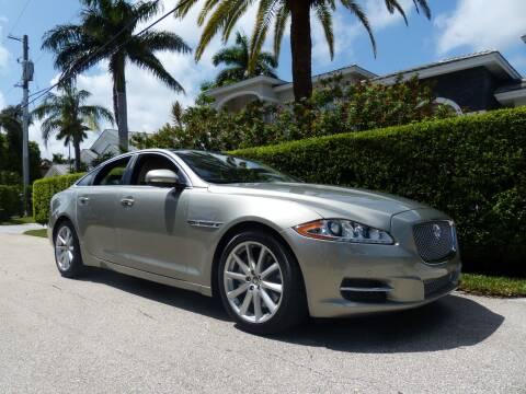 2011 Jaguar XJ for sale at Lifetime Automotive Group in Pompano Beach FL