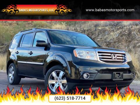 2014 Honda Pilot for sale at Baba's Motorsports, LLC in Phoenix AZ