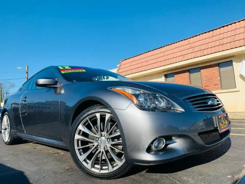 2012 Infiniti G37 Coupe for sale at Alpha AutoSports in Roseville CA