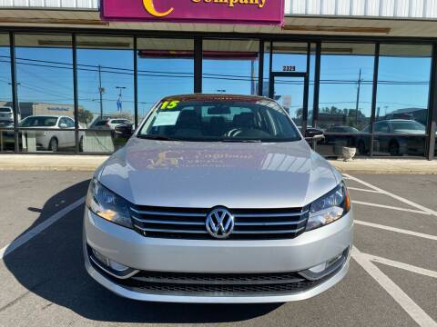2015 Volkswagen Passat for sale at Washington Motor Company in Washington NC