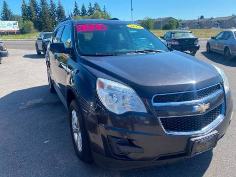 2013 Chevrolet Equinox for sale at BELOW BOOK AUTO SALES in Idaho Falls ID