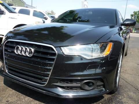 2012 Audi A6 for sale at Sindibad Auto Sale, LLC in Englewood CO
