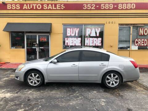 2006 Nissan Maxima for sale at BSS AUTO SALES INC in Eustis FL