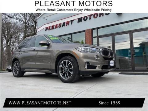 2018 BMW X5 for sale at Pleasant Motors in New Bedford MA