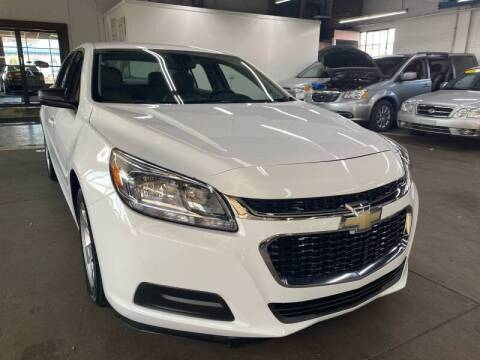 2015 Chevrolet Malibu for sale at John Warne Motors in Canonsburg PA