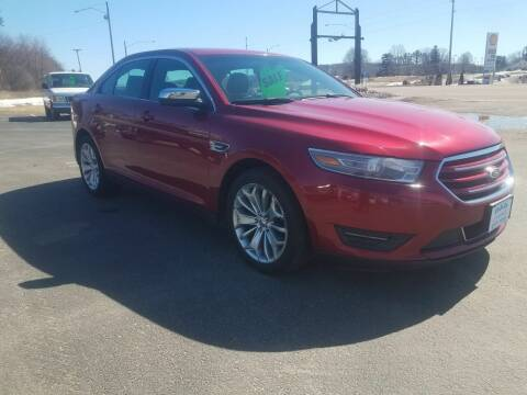 2013 Ford Taurus for sale at D AND D AUTO SALES AND REPAIR in Marion WI