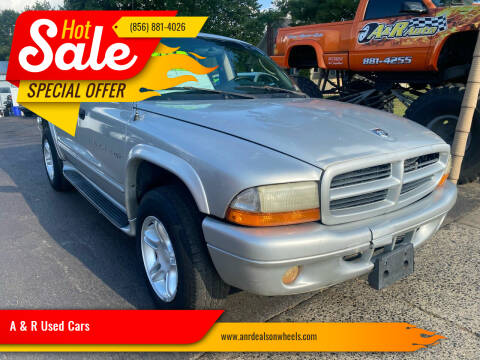 2001 Dodge Durango for sale at A & R Used Cars in Clayton NJ