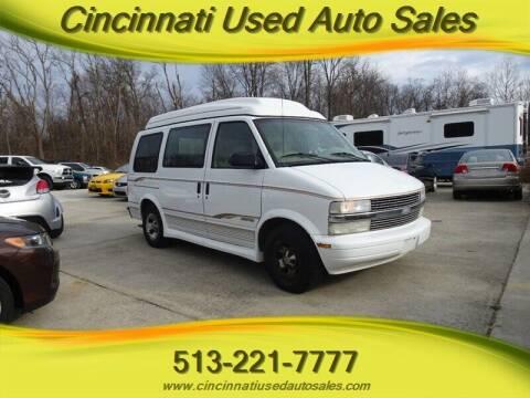 1999 Chevrolet Astro for sale at Cincinnati Used Auto Sales in Cincinnati OH