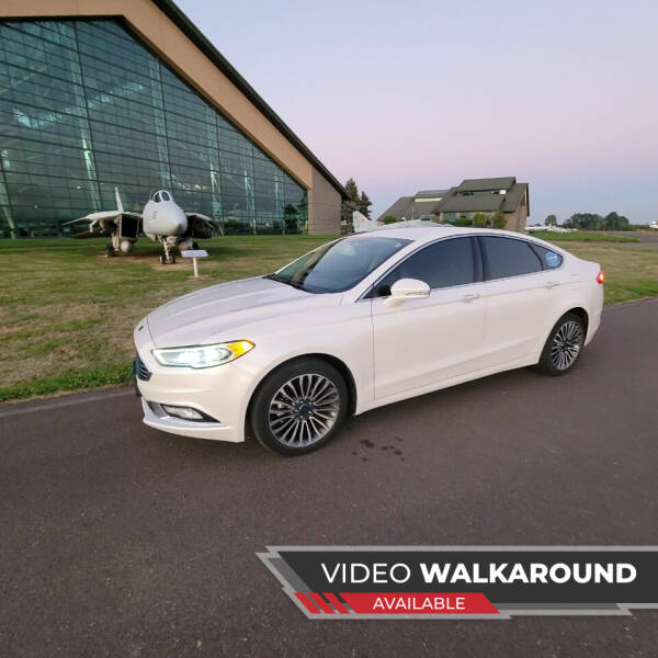 2017 Ford Fusion for sale at McMinnville Auto Sales LLC in Mcminnville OR