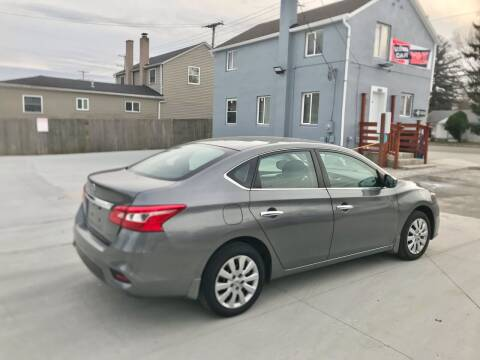 2017 Nissan Sentra for sale at Tiger Auto Sales in Columbus OH