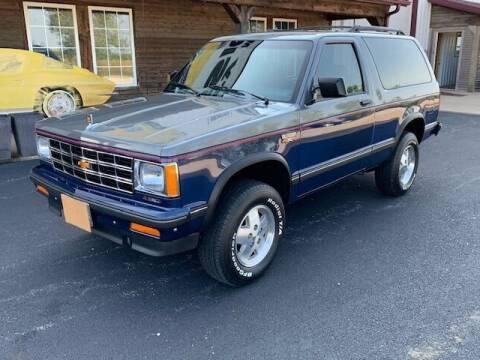 1988 Chevrolet S-10 Blazer for sale at Gary Miller's Classic Auto in El Paso IL