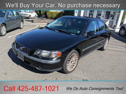 2002 Volvo S60 for sale at Platinum Autos in Woodinville WA