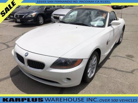 2004 BMW Z4 for sale at Karplus Warehouse in Pacoima CA