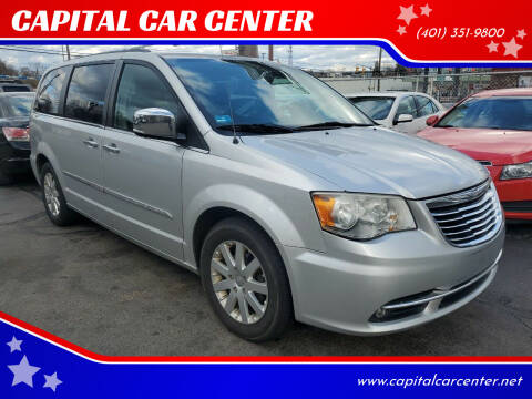 2011 Chrysler Town and Country for sale at CAPITAL CAR CENTER in Providence RI