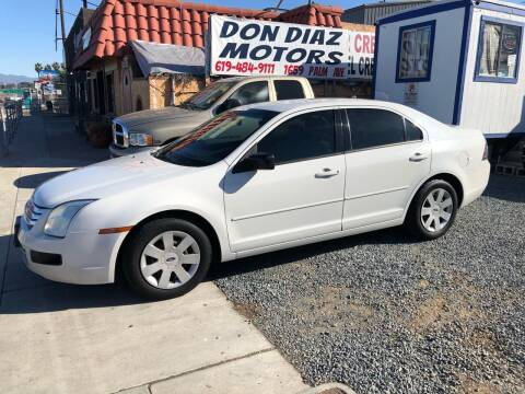2008 Ford Fusion for sale at DON DIAZ MOTORS in San Diego CA