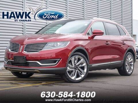 2017 Lincoln MKX for sale at Hawk Ford of St. Charles in St Charles IL