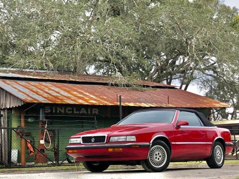 1991 Chrysler TC for sale at OVE Car Trader Corp in Tampa FL
