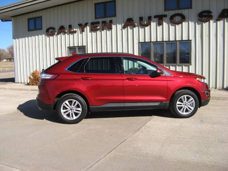 2017 Ford Edge for sale at Galyen Auto Sales Inc. in Atkinson NE