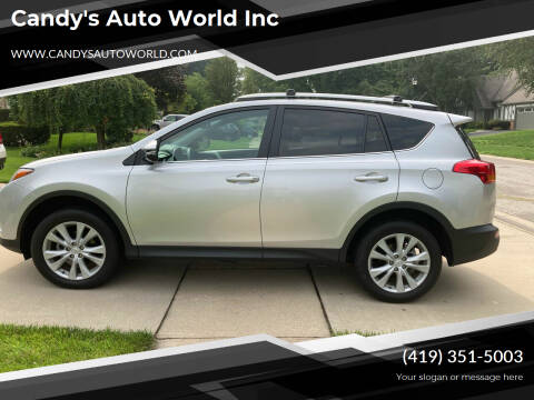 2014 Toyota RAV4 for sale at Candy's Auto World Inc in Toledo OH