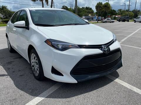 2017 Toyota Corolla for sale at LUXURY AUTO MALL in Tampa FL