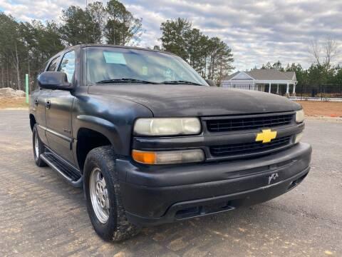 2000 Chevrolet Tahoe for sale at El Camino Auto Sales in Sugar Hill GA