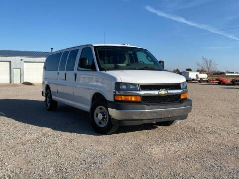 2017 Chevrolet Express Passenger for sale at Double TT Auto in Montezuma KS