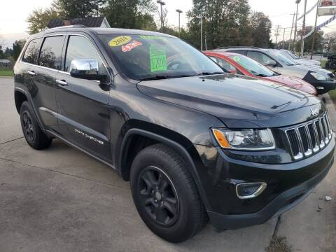 2014 Jeep Grand Cherokee for sale at Kachar's Used Cars Inc in Monroe MI