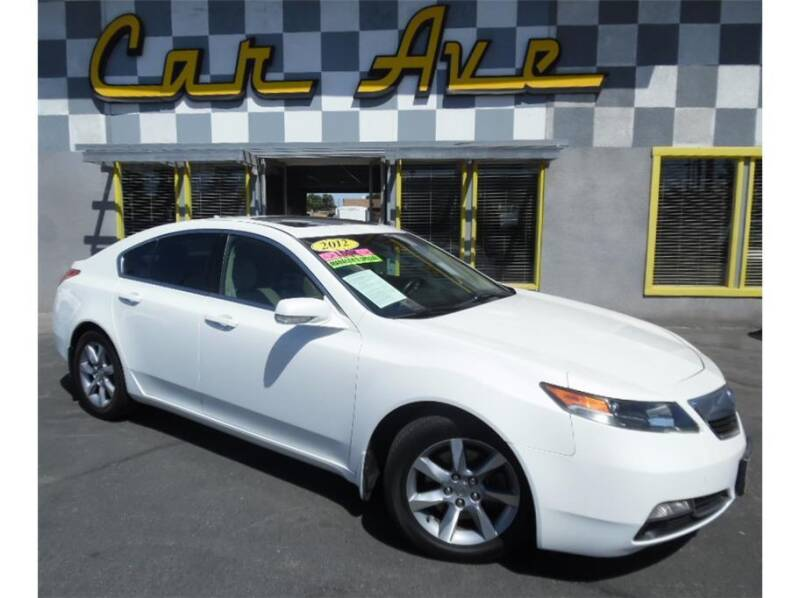 2012 Acura TL for sale at Car Ave in Fresno CA