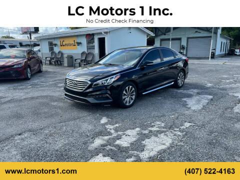 2017 Hyundai Sonata for sale at LC Motors 1 Inc. in Orlando FL