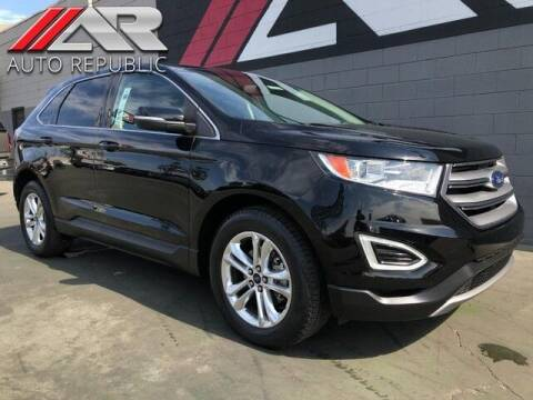 2017 Ford Edge for sale at Auto Republic Fullerton in Fullerton CA