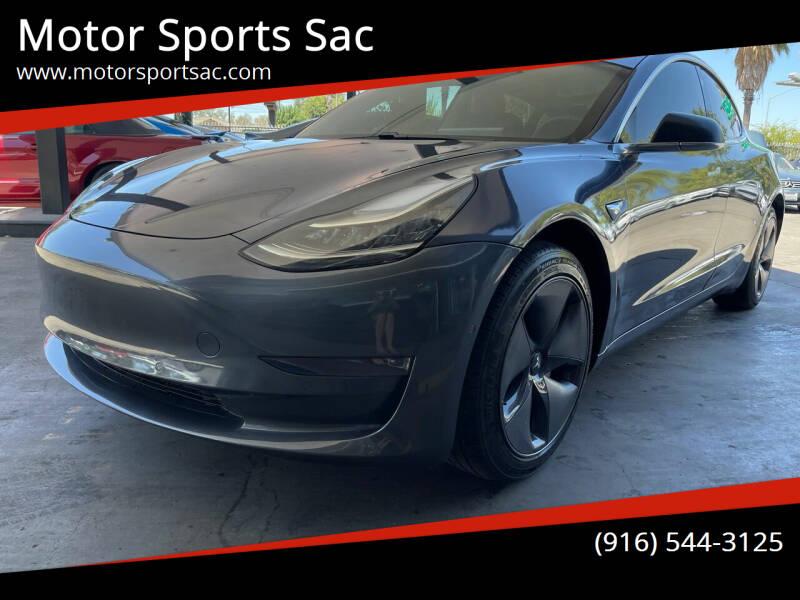 2020 Tesla Model 3 for sale at Motor Sports Sac in Sacramento CA