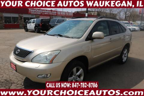 2007 Lexus RX 350 for sale at Your Choice Autos - Waukegan in Waukegan IL