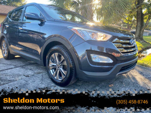 2013 Hyundai Santa Fe Sport for sale at Sheldon Motors in Tampa FL