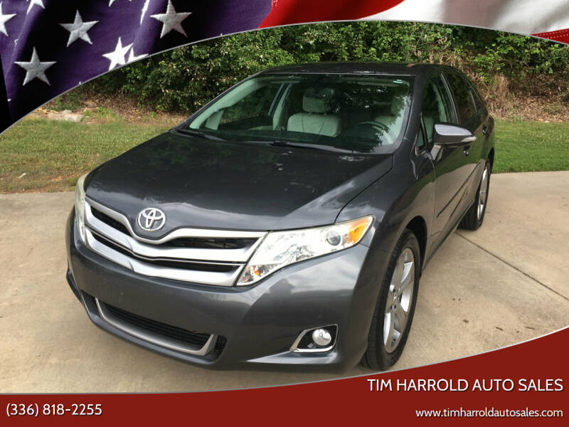2013 Toyota Venza for sale at Tim Harrold Auto Sales in Wilkesboro NC