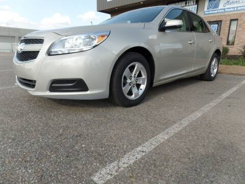 2013 Chevrolet Malibu for sale at Flywheel Motors, llc. in Olive Branch MS