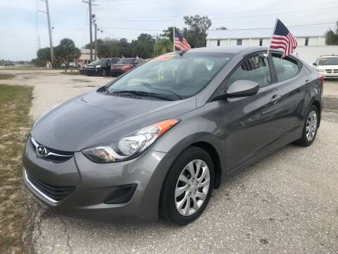 2012 Hyundai Elantra for sale at EXECUTIVE CAR SALES LLC in North Fort Myers FL