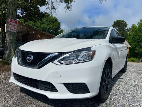 2018 Nissan Sentra for sale at Efficiency Auto Buyers in Milton GA
