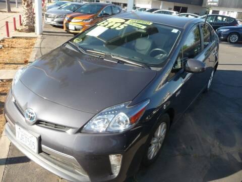 2015 Toyota Prius Plug-in Hybrid for sale at CENTURY MOTORS in Fresno CA