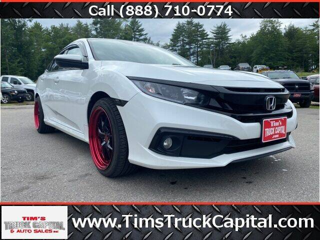 2020 Honda Civic for sale at TTC AUTO OUTLET/TIM'S TRUCK CAPITAL & AUTO SALES INC ANNEX in Epsom NH