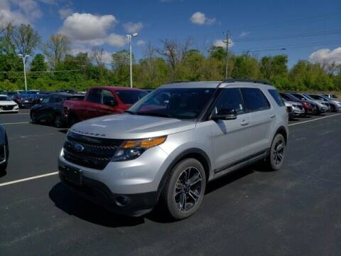 2015 Ford Explorer for sale at White's Honda Toyota of Lima in Lima OH