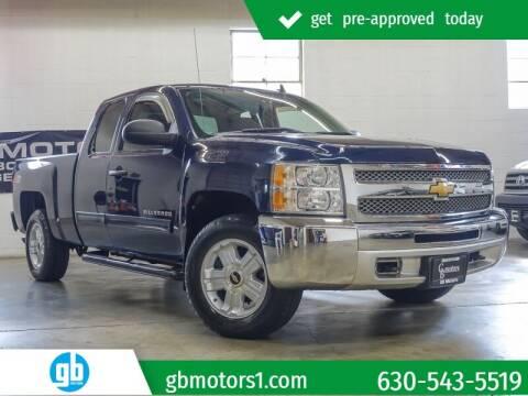 2012 Chevrolet Silverado 1500 for sale at GB Motors in Addison IL