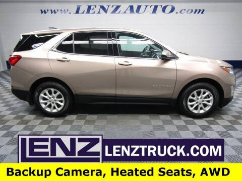 2018 Chevrolet Equinox for sale at LENZ TRUCK CENTER in Fond Du Lac WI